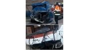 تصادف وحشتناک اتوبوس و وانت در اردبیل/ آمار مصدومان و فوتیها اعلام شد