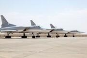 گشتزنی بمب افکن آمریکایی بر فراز خاورمیانه