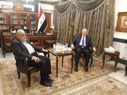 مذاکرات ایرج مسجدی و وزیر دارایی عراق درباره دریافت مطالبات ایران
