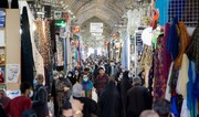 شلوغی بازار وکیل شیراز در اوج کرونا /عکس