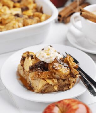 فرنچ تست فرانسوی سیب و دارچین؛ صبحانهای خوشمزه + طرز تهیه