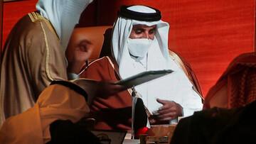 دیدار وزیر خارجه عربستان با امیر قطر