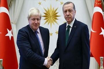 تماسی تلفنی اردوغان با جانسون