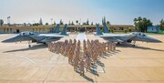رزمایش هوایی مشترک امارات با ۷ کشور دیگر آغاز شد