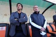 حضور فرهاد مجیدی در محل بازی امیدهای استقلال/ عکس