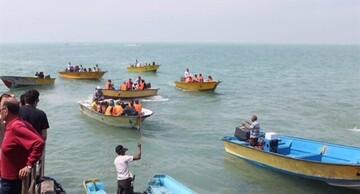 شناورهای حمل مسافر به جزایر هرمزگان توقف شدند