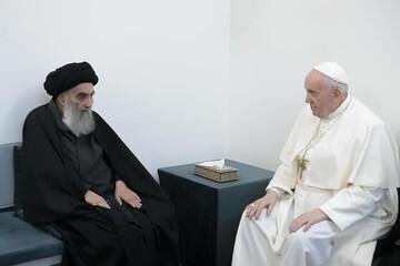 روایت پاپ از سفر به عراق و دیدارش با آیتالله سیستانی؛ او فردی متواضع و خردمند  است