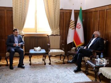 رییس فدراسیون فوتبال با ظریف دیدار کرد