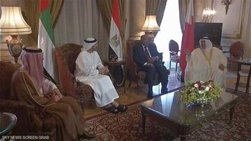 کویت در تلاش برای برگزاری نشستی میان قطر، امارات و مصر