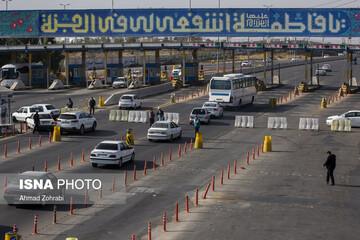پلیس راهور: سفر به ۳ استان و ۸ شهر ممنوع است