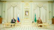 وزیر خارجه روسیه در ریاض با بن سلمان دیدار کرد