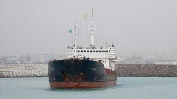 کشتی حامل غلات از ایران به روسیه دچار آبگرفتگی شد