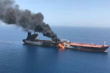 فیلمی از کشتی سانحه دیده ایرانی در دریای مدیترانه