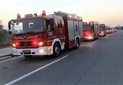 گزارش آتش نشانی درباره حوادث شب چهارشنبه سوری