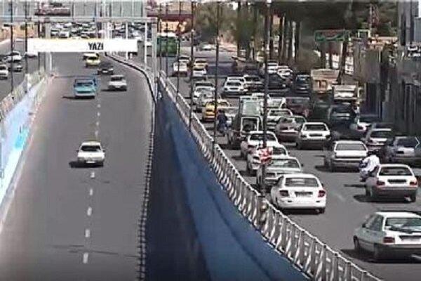 توضیحات پلیس راهور درباره وضعیت ترافیکی جادهها و آمار تصادفات