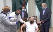 محمود عباس واکسن کرونا دریافت کرد