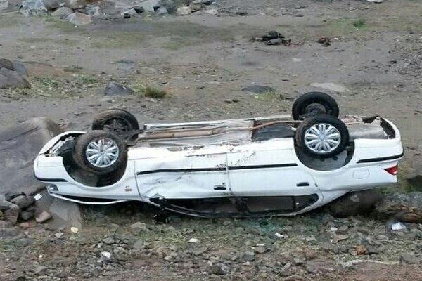 ۶ کشته و مصدوم در پی واژگونی سمند در جاده مشگین شهر - پارس آباد