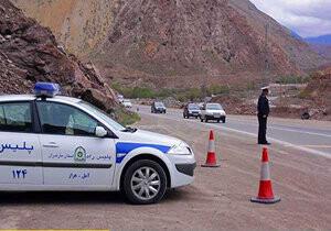 وضعیت ترافیکی راههای کشور ۲ فروردین ۱۴۰۰/ جاده چالوس نیمه سنگین است