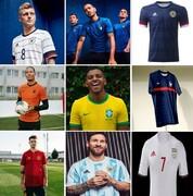 زیباترین پیراهنهای تیمهای ملی فوتبال جهان انتخاب شدند/ پیراهن تیم ملی ایران در جایگاه سیام