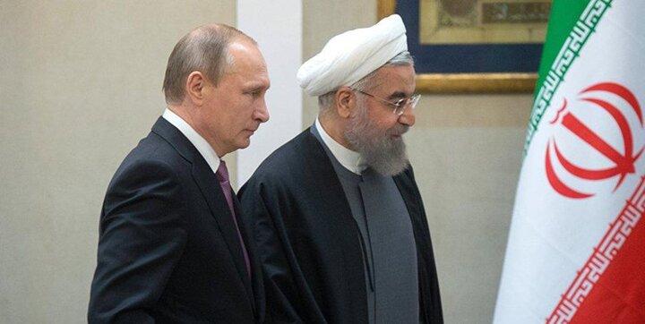 تبریک نوروزی پوتین به روحانی