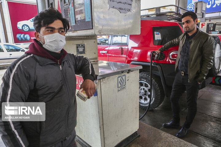 میزان کاهش مصرف بنزین در سال ۹۹