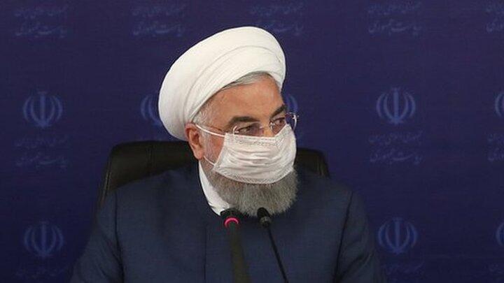 روحانی: مسافران سفر خود را کوتاه کنند/ سال ۱۴۰۰ سال غلبه بر کرونا خواهد بود