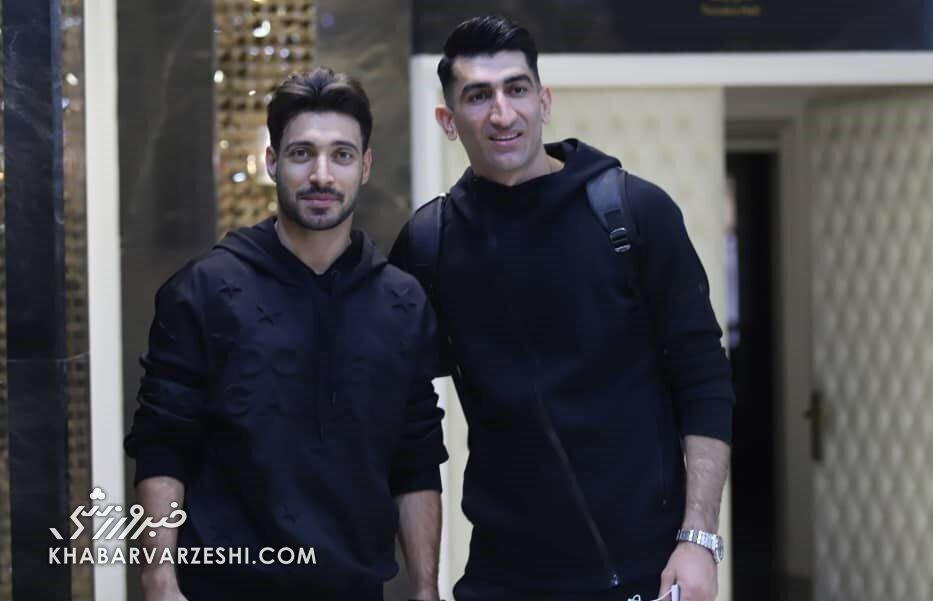 تصاویر| حضور بازیکن کرونایی بدون ماسک در اردو تیم ملی