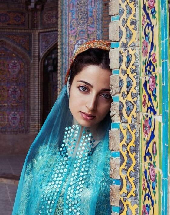 دختر شیرازی یکی از زیباترین دختران جهان (+عکس)