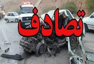 تصادف مرگبار دو خودروی پژو پارس و پراید در شیراز؛ ۴ کشته و ۹ مصدوم