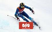 سقوط وحشتناک اسکیباز نروژی با سرعت ۱۰۰ کیلومتر / فیلم