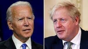 تماس تلفنی بایدن و جانسون درباره بازگشت ایران به برجام