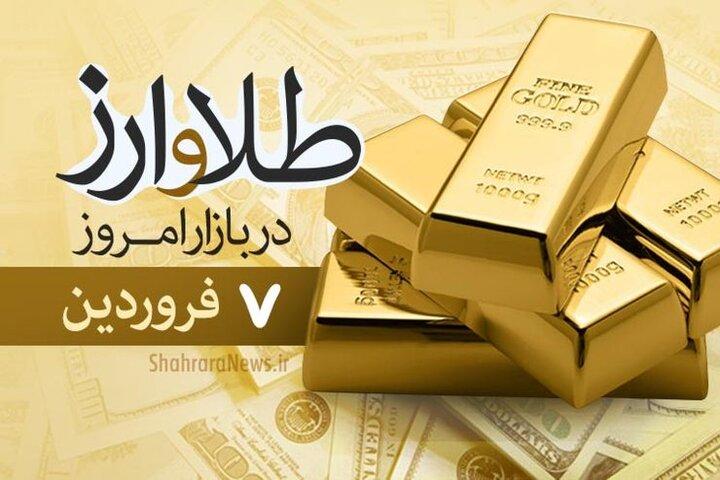 قیمت انواع سکه و طلا ۷ فرودین ۱۴۰۰ | افزایش ۳۰۰ هزار تومانی قیمت سکه