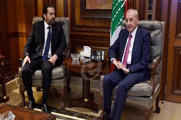 دیدار سعد حریری با رییس پارلمان لبنان