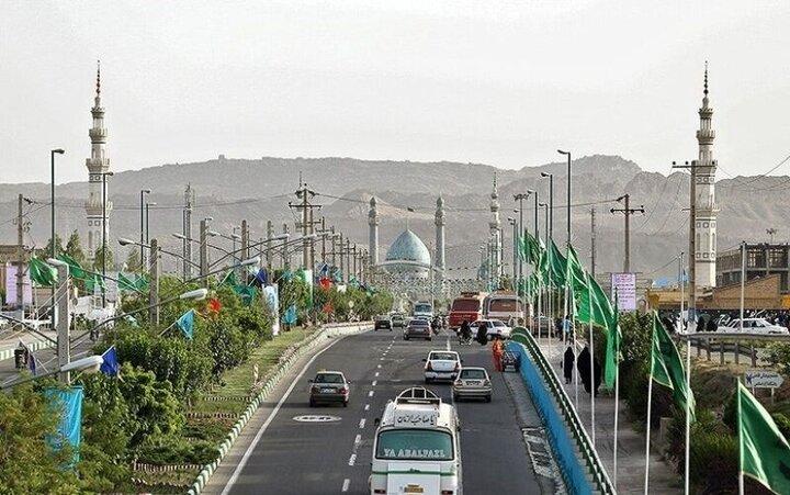 مسدود شدن کلیه مسیرهای منتهی به مسجد جمکران