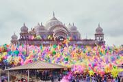 جشنوارهای برای کتکزدن مردان در هند! / فیلم