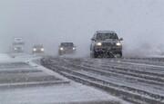 نخستین برف بهاری در شهرهای شمالی کشور / فیلم