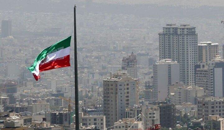 باد شدید در استان تهران خسارتی در پی نداشت