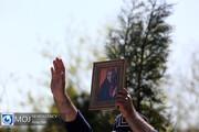 گزارش تصویری از مراسم تشییع و تدفین پیکر آزاده نامداری در قطعه هنرمندان بهشت زهرا