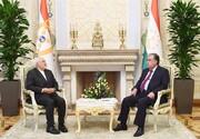 دیدار ظریف با رییسجمهور تاجیکستان