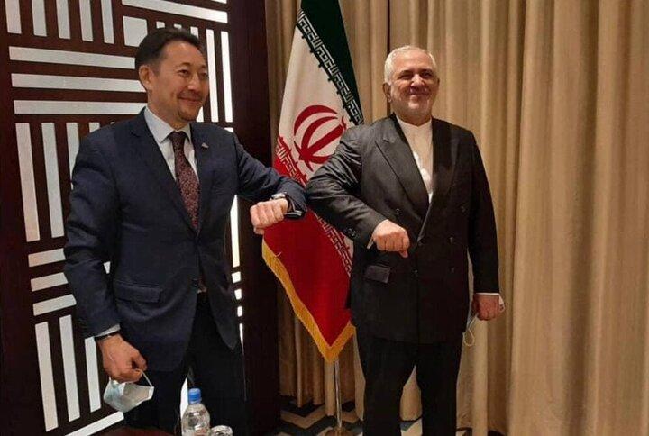 دیدار وزیر امور خارجه ایران با دبیر اجرایی «سیکا»