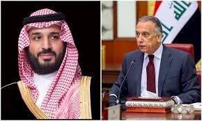 گفتوگوی تلفنی مصطفی الکاظمی نخستوزیر عراق با محمد بن سلمان ولیعهد عربستان