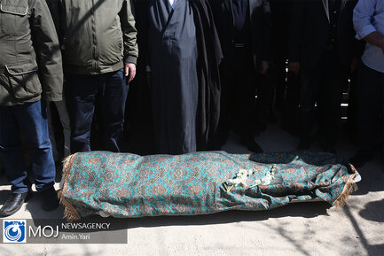 تشییع و تدفین پیکر آزاده نامداری