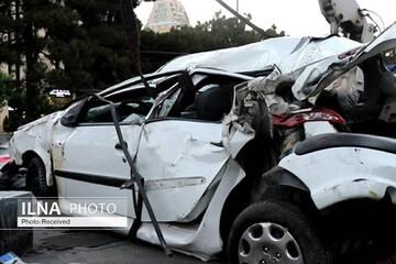 ۳ کشته در تصادف ۲۰۶ با اتوبوس