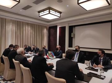 پیام توییتری وزیر خارجه آذربایجان پس از دیدار با وزیرخارجه ایران