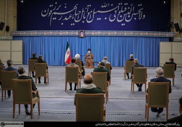 بیانات رهبر انقلاب در دیدار با اعضای ستاد کنگره ملّی شهدای استان یزد