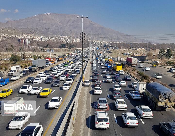 رشد ۶۸ درصدی تردد در جادههای لرستان