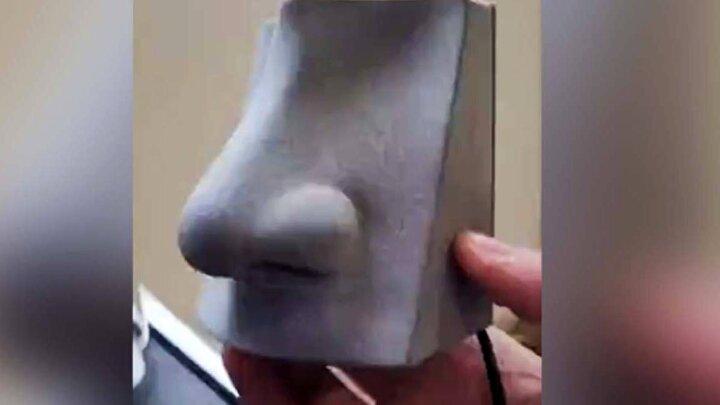 ساخت بینی مصنوعی با قابلیت تشخیص صد بو / فیلم