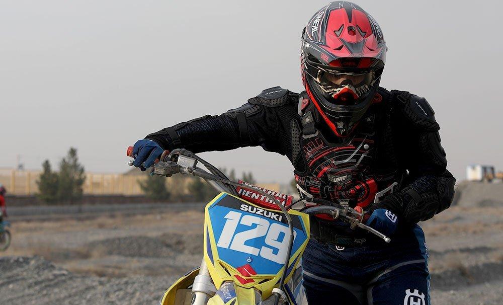 زنان موتورسوار در مشهد / تصاویر