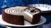 کیک پنیری شکلاتی لذیذ + طرز پخت
