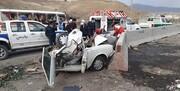 یک کشته در تصادف رانندگی در محور سنندج به قروه